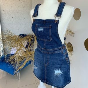 Other - Overall denim